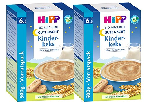 Hipp Kinderkeks buenas noches avena - a partir de 6 meses, 2-pack (