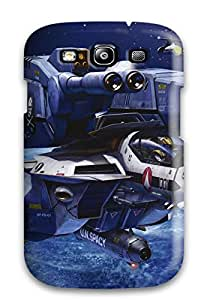 Special MicheleAnn Skin Case Cover For Iphone 5/5s, Popular Macross Anime Mecha Jet Planet Stars Phone Case