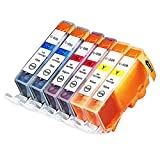 INKUTEN (TM) Compatible Ink Cartridge Replacement for Canon CLI-226 (2 Cyan, 2 Magenta, 2 Yellow) - 6 Pack