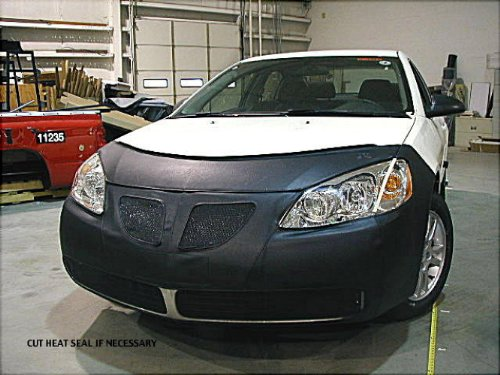 lebra-2-piece-front-end-cover-black-car-mask-bra-fits-pontiacg6-2005-thru-2009