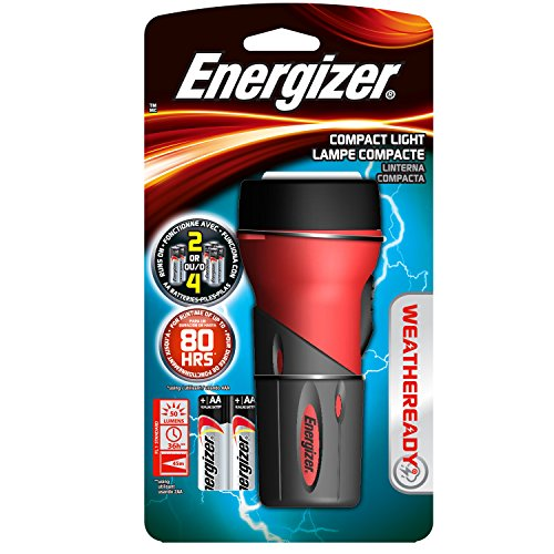 Energizer Weatheready Compact LED Light - Aa Led Rubber Grip Flashlight