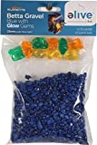 Elive 1056 034295 Betta Gravel with Glow Gems, Blue