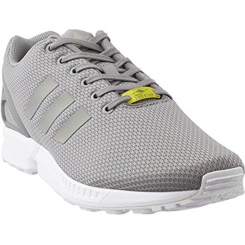 new style 29a85 3e61a ... canada adidas originals mens zx flux sneakerlight granite light granite  core white 11 0715a d0055