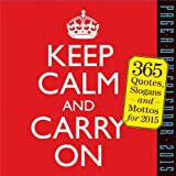 Keep Calm and Carry On 2015 Page-A-Day Calendar