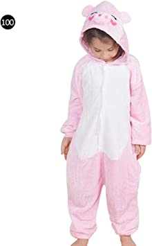 Pijama Animal Entero Unisex Para Niños Con Capucha Cosplay ...
