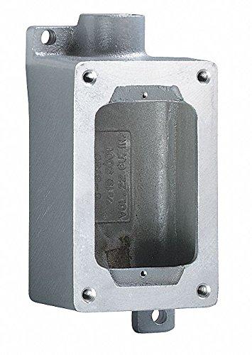 Device Box, 3/4In Hub, 22Cu-In