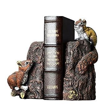 Hsuo Niedlichen Tier Buchstützen Buch Büro Dekoration Bücherregal