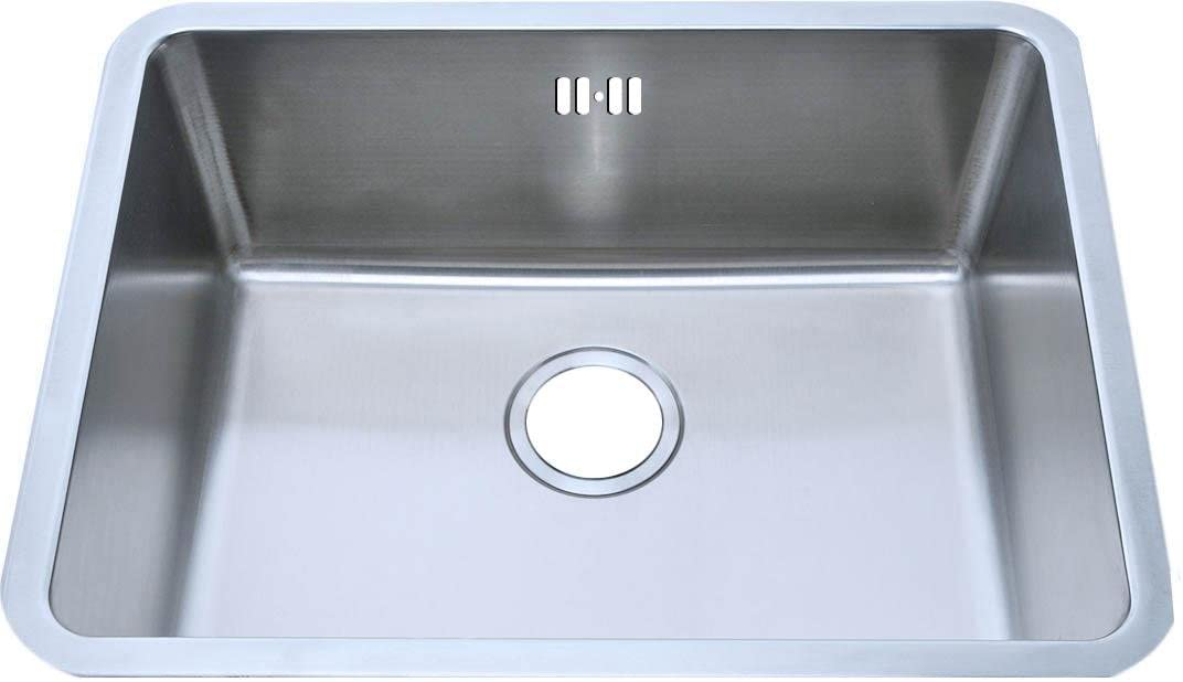 Grand Taps Undermount Brushed Stainless Steel Bowl Kitchen Sink (A02 bs)