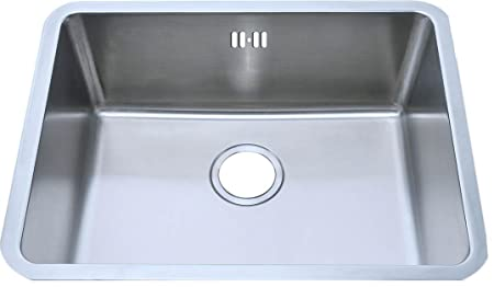 Undermount Brushed Stainless Steel Bowl Kitchen Sink (A02 bs ...