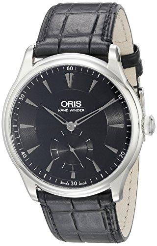 Oris Mens 39675804054Ls Artelier Analog Display Swiss Automatic Black Watch