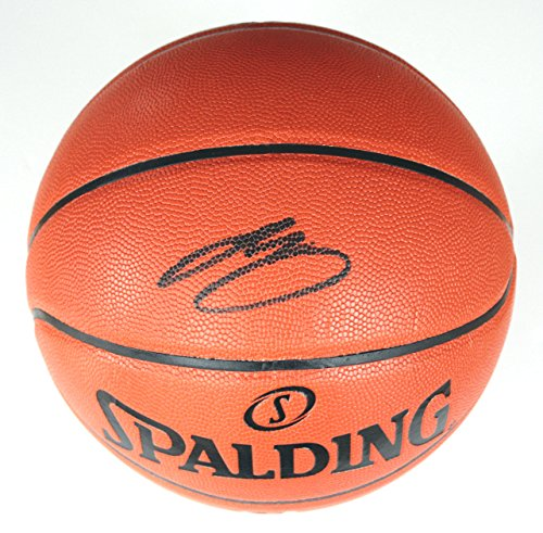 Lebron James Cleveland Cavaliers Signed Autographed Spalding NBA Game Replica Basketball COA by Sports-Autographs