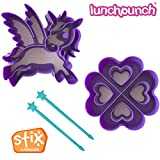 LunchPunch Sandwich Cutter Set - ORIGINAL SHAPES - Lifetime Replacement Guarantee - BPA FREE - Remove Crusts and Create Fun Bites to Fit in a Kids Bento Lunch Box!
