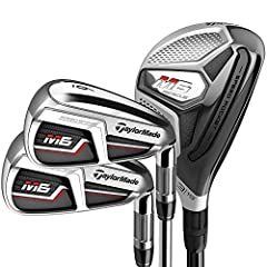 Get the most out of your equipment with an M6 combo set. Replace your long irons with M6 Rescues, now featuring Twist Face, and take advantage of Speed Bridge structure in your mid and short irons for more speed and greater consistency.