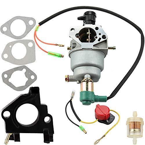 - Leopop Carburetor Carb + Intake Manifold + Gaskets + Fuel Filter for Honeywell HW5500 Generator 337cc 100924A HW6200 Generator 389cc 100925A Gasonline Generators Tune-Up Kit