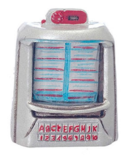 Dollhouse Miniature 1950's Table Jukebox