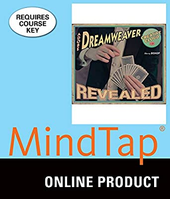 MindTap Media Arts and Design for Bishop's Adobe Dreamweaver Creative Cloud, 1st Edition