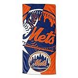 "MLB New York Mets ""Puzzle"" Beach Towel, 34"" x"