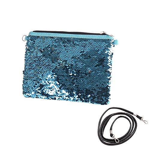 donna Silver Blue giorno pu Poschette Silver Blue ran qUwtCp6