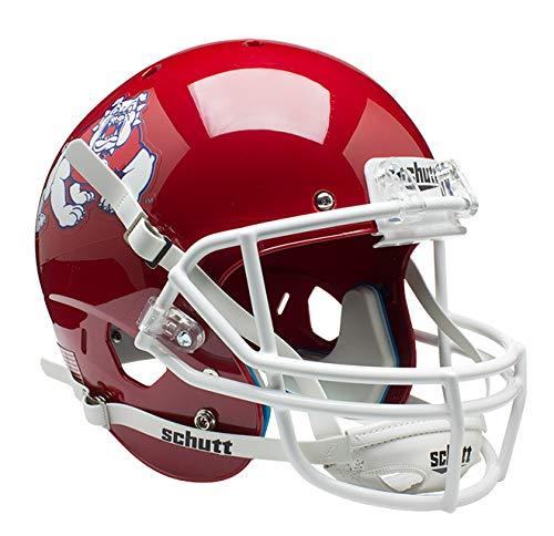 Schutt NCAA Fresno State Bulldogs Replica XP Football Helmet, Classic