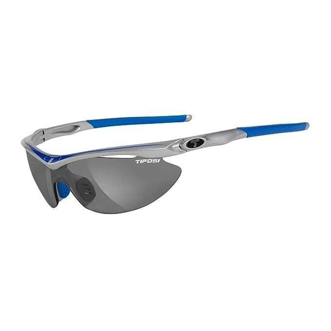 Amazon.com: Lentes de sol Tifosi Slip Wrap, Azul, talla ...