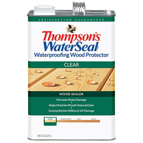 Water Thompsons - THOMPSONS WATERSEAL 21802 VOC Wood Protector, 1.2-Gallon
