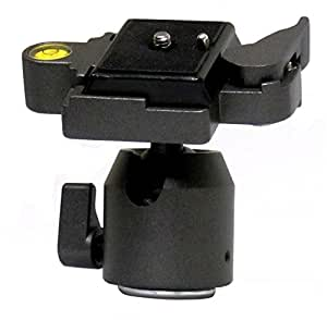 Opteka TH10 Ball Head with Quick Release Plate for Tripods and Monopods
