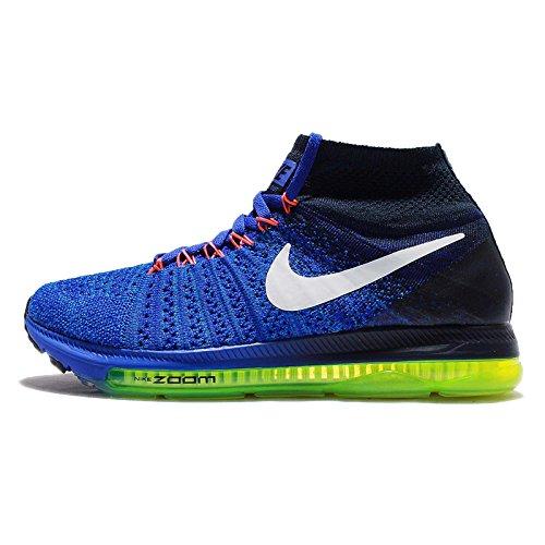 フラップブースト測定(ナイキ) ズーム オール アウト フライニット レディース ランニング シューズ Nike Zoom All Out Flyknit 845361-401 [並行輸入品]