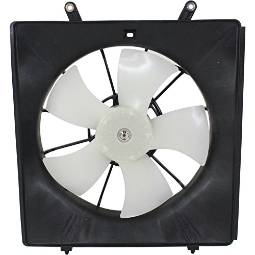 Fan Cooling Motor Auto Shroud (Evan-Fischer EVA2457207098 Direct Fit Radiator Fan Cooling Assembly Plastic Single Design Includes Blade, Motor, and Shroud)