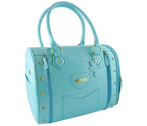 Bora Bora Pet Handbag, Blue, My Pet Supplies