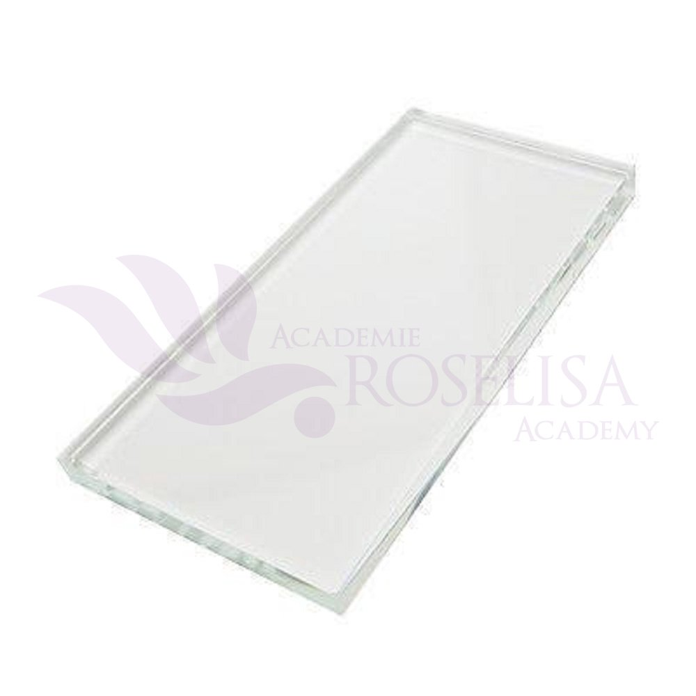 Roselisa Crystal Rectangular Stone Pallet Application Tool Holder for Eyelash Extensions & Glue Adhesive Roselisa Inc.