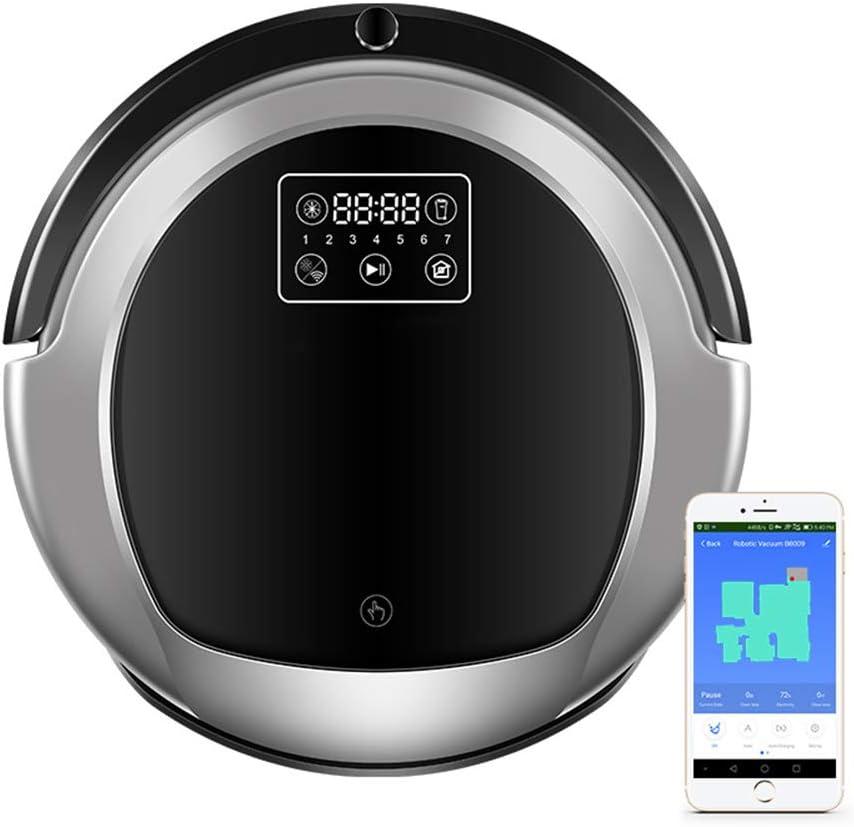 WUAZ Robot Aspiradora, lámpara UV, Filtro de Agua del Tanque PAFH, Mapa 2D y navegación giroscopio, la Memoria Virtual Bloqueador: Amazon.es: Hogar
