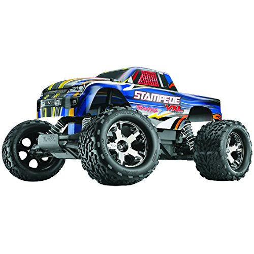 (Traxxas 36076-3 1/10 Stampede VXL RTR with Stability Management, Colors May Vary)