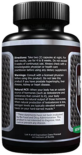 PCT Premium Post Cycle Therapy Supplement, Cycle Support. Maintain Muscle Mass and Support Testosterone USA premium quality 100% Guarantee!. By MEGATHOM