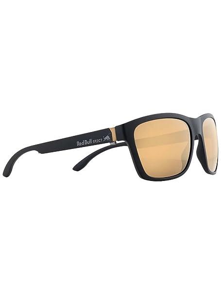 Red Bull SPECT Gafas De Sol Polarizadas Wing2 Matt Negro-Marron With Oro Mirror (