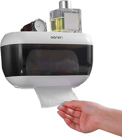 Anself CHUANGDIAN Distributore Carta Asciugamani Parete Bagno Portarotolo Tessuto Dispenser Box