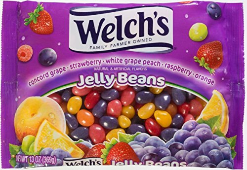 Welch's Assorted Fruit Flavored Jelly Beans, 13 oz Bag