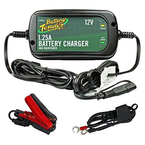 BATTERY TENDER Battery Charger High Efficiency Plus 12V 1.25A ()