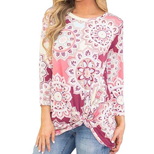 [S-XL] レディース Tシャツ 花柄 長袖 トップス おしゃれ ゆったり カジュアル 人気 高品質 快適 薄手 ホット製品 通勤 通学