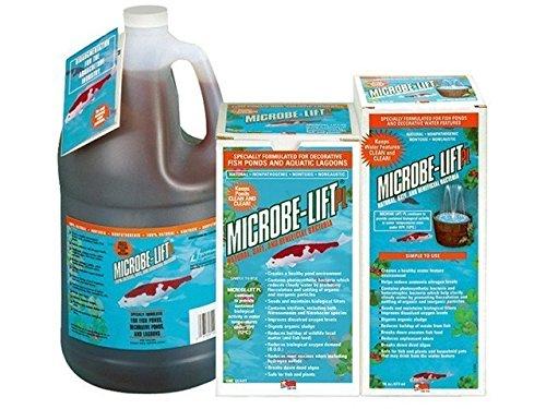 Microbe-Lift PL Beneficial Pond Bacteria - 1 Gallon with BONUS Max Ponds Magnet Calendar