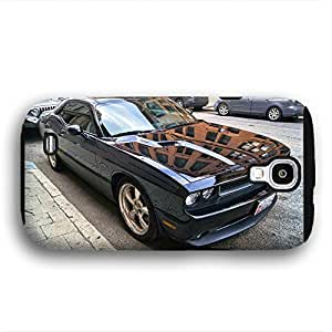 2010 to 2014 Dodge Challenger Purple Samsung Galaxy S4 Armor Phone Case wangjiang maoyi