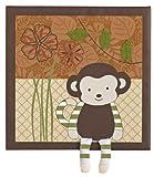 CoCaLo Baby Nali Jungle 1 Pc. Canvas Art – 12″x12″, Baby & Kids Zone