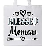 Inktastic - Blessed Memaw Grandma Gift Tote Bag White 2fcb6