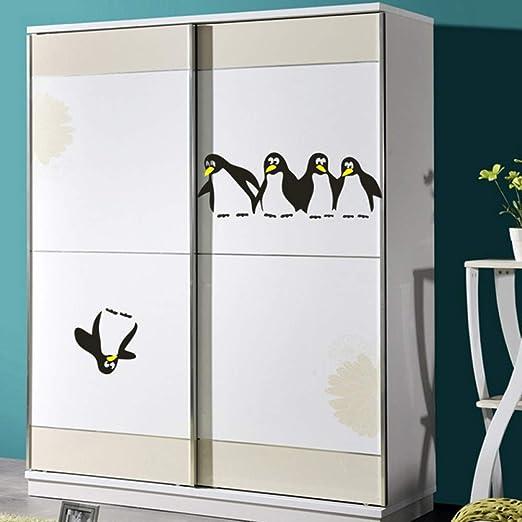 UDPBH Divertidos Pingüinos Etiqueta De La Pared Niños Habitación ...