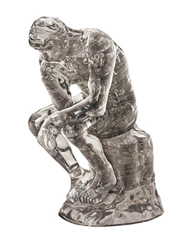 Beverly Crystal Clear 3D Puzzle - The Thinker (43Piece) Crystal Puzzle