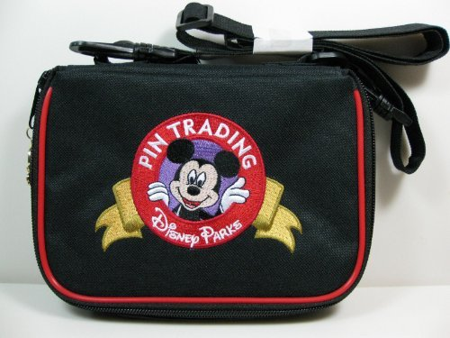 Walt Disney Parks Small Pin Trading Display Shoulder Strap Mickey Bag Case