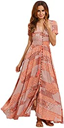 Amazon.com: Orange - Dresses / Clothing: Clothing- Shoes &amp- Jewelry