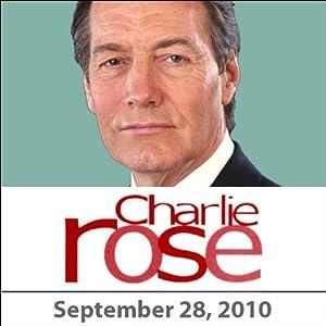 Charlie Rose: Jimmy Carter, David Fincher, and Aaron Sorkin, September 28, 2010 Radio/TV Program