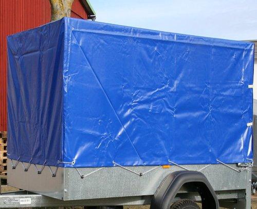 Stema Spriegel Plane Set 750 blau Hochplane f/ür PKW Anh/änger 1,00 Meter