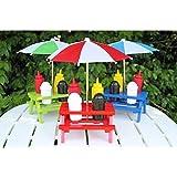 Backyard Umbrella Condiment Set, Comes in Random Color: Blue, Red or Green