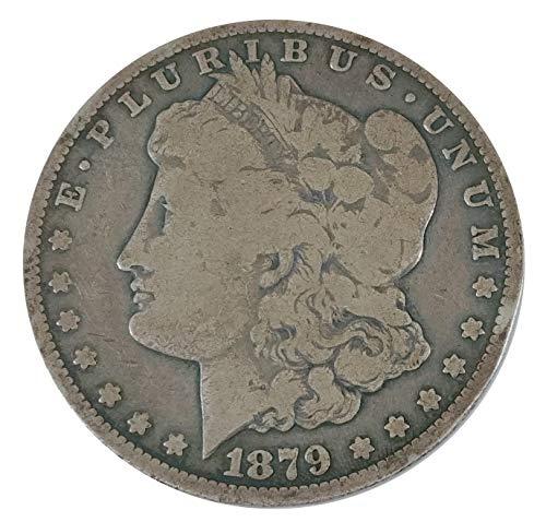 1879 CC Morgan Silver Dollar $1 ()